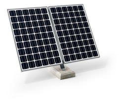 3d large square solar panel