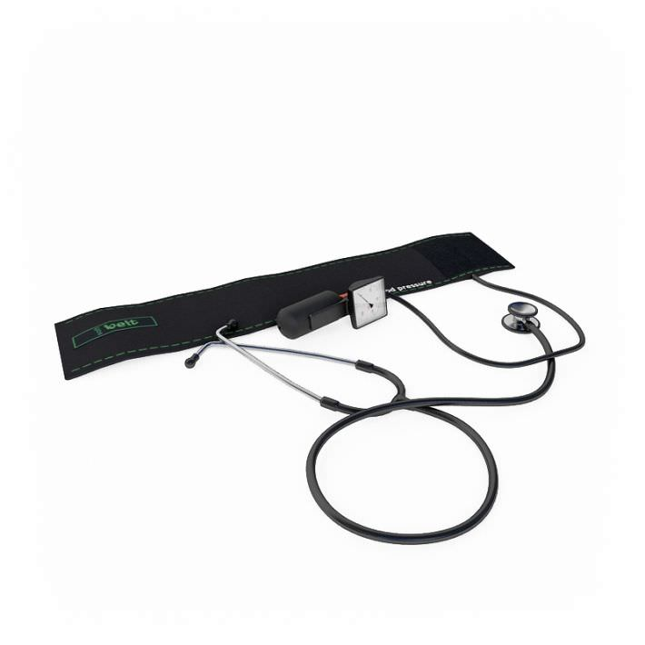 Blood Pressure Cuff With Dual Head Stethoscope Kit