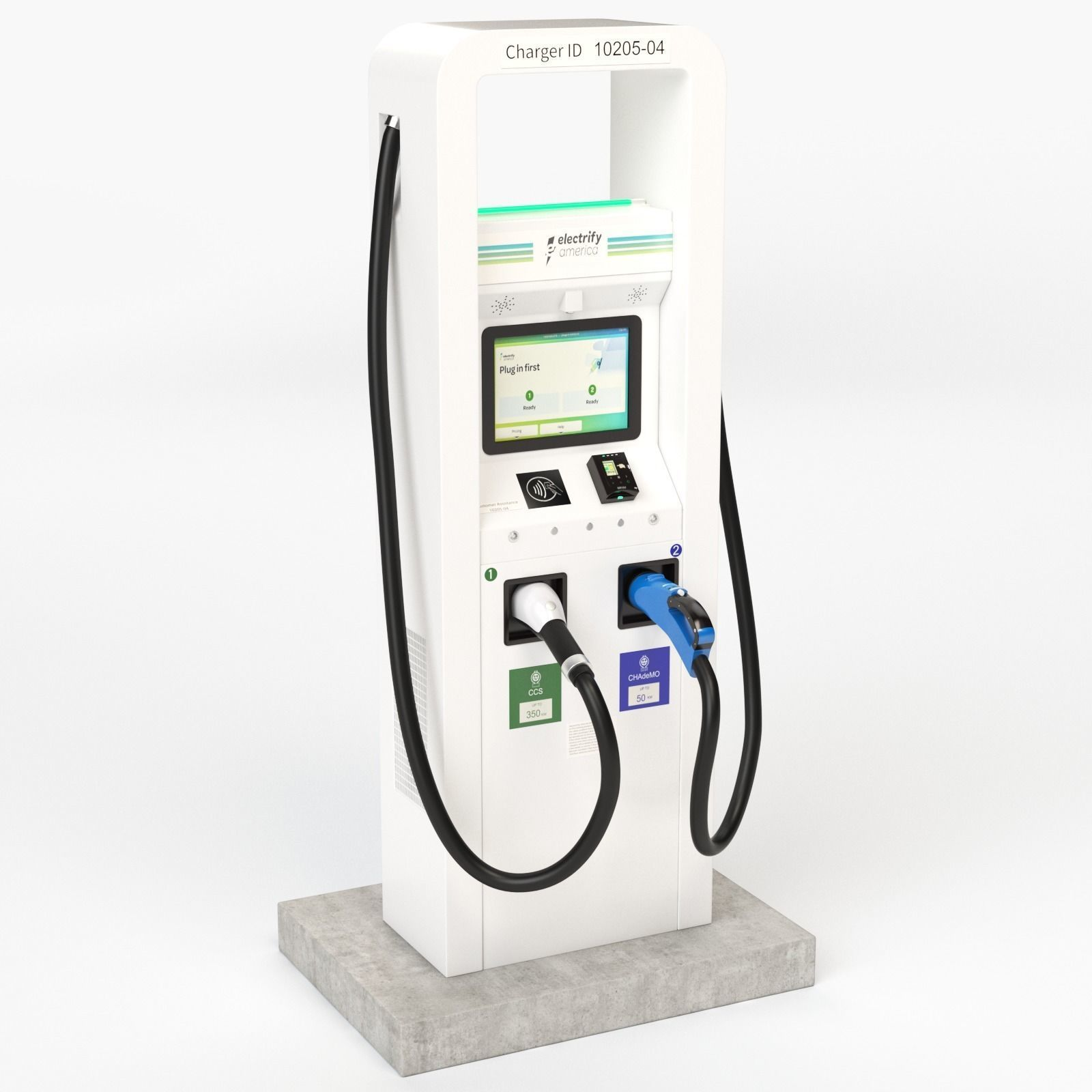 Electric Vehicle Charging Station Electrify America Part 1