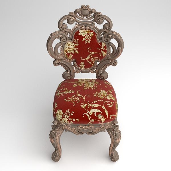 ... Cornelio Cappellini Baroque Side Chair 3d Model Max Obj Fbx Mtl  Unitypackage 5 ...
