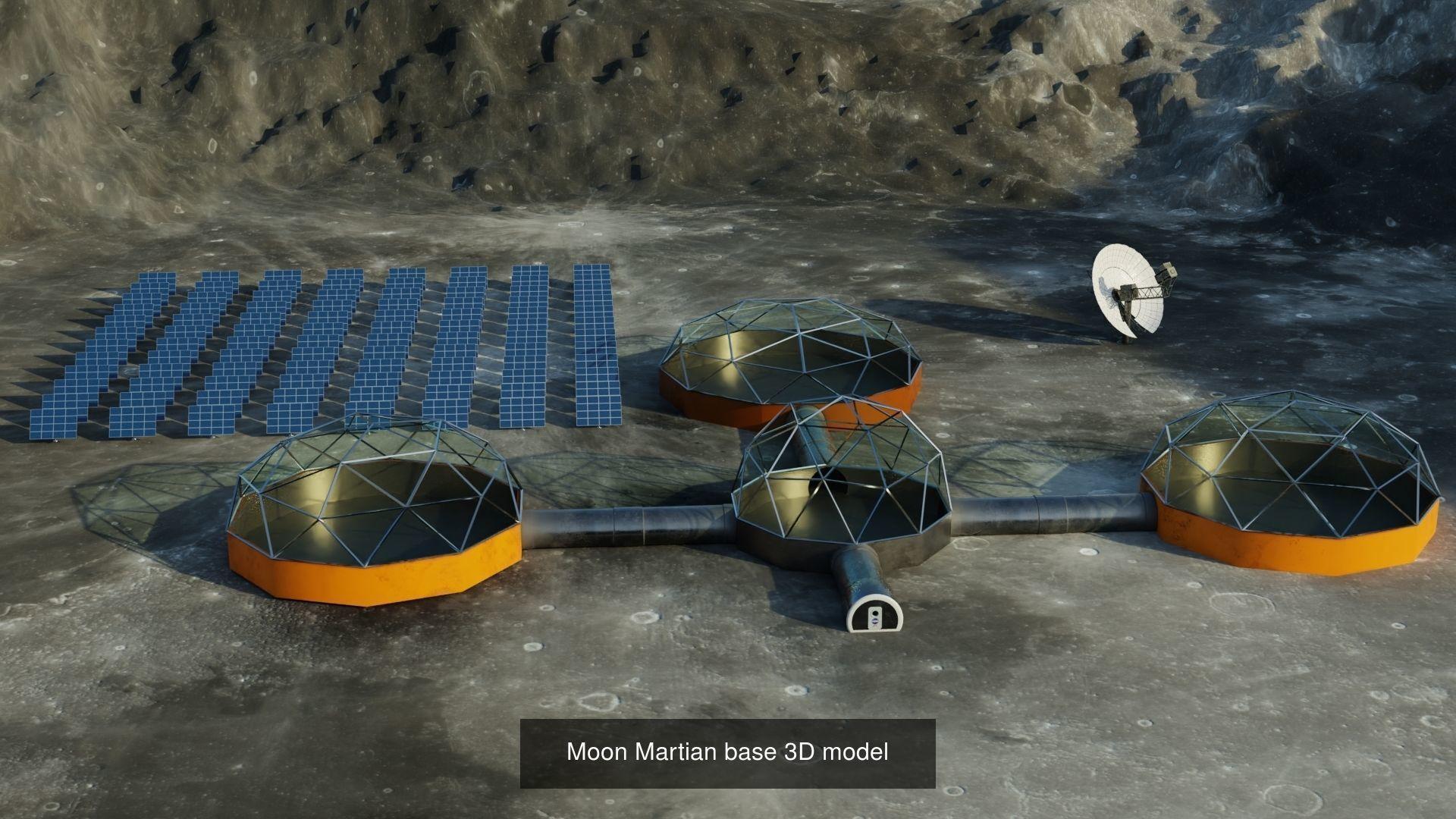 Space 3D models