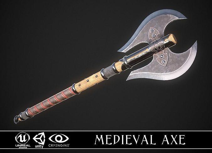 Medieval Axe 01