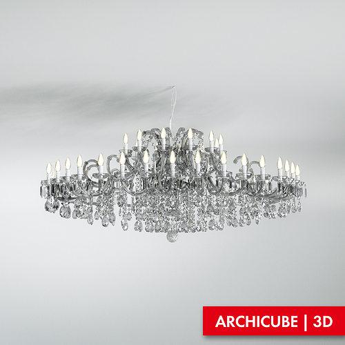 ceiling lamp 3d model max obj mtl fbx 1