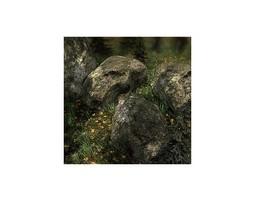 21 Rocks And Stones Models For Games 3D asset