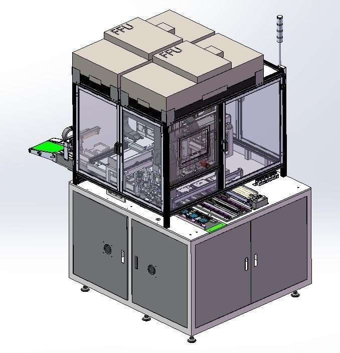 Mobile phone and tablet computer screen  assembly machine