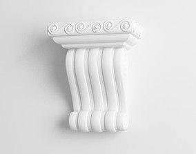 3D White Wall Ornament