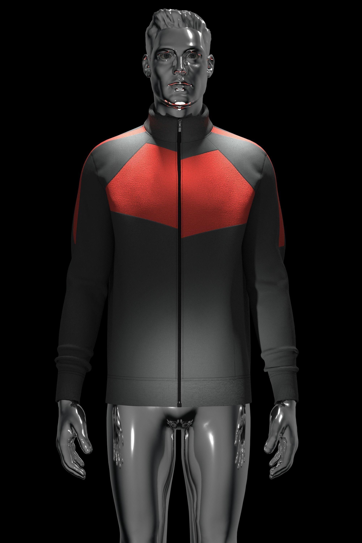 3D Knit Jacket in Clo3d and Marvelous Designer
