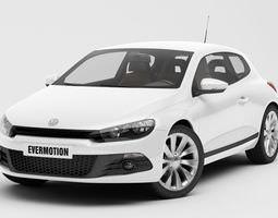 3D volkswagen Volkswagen Scirocco