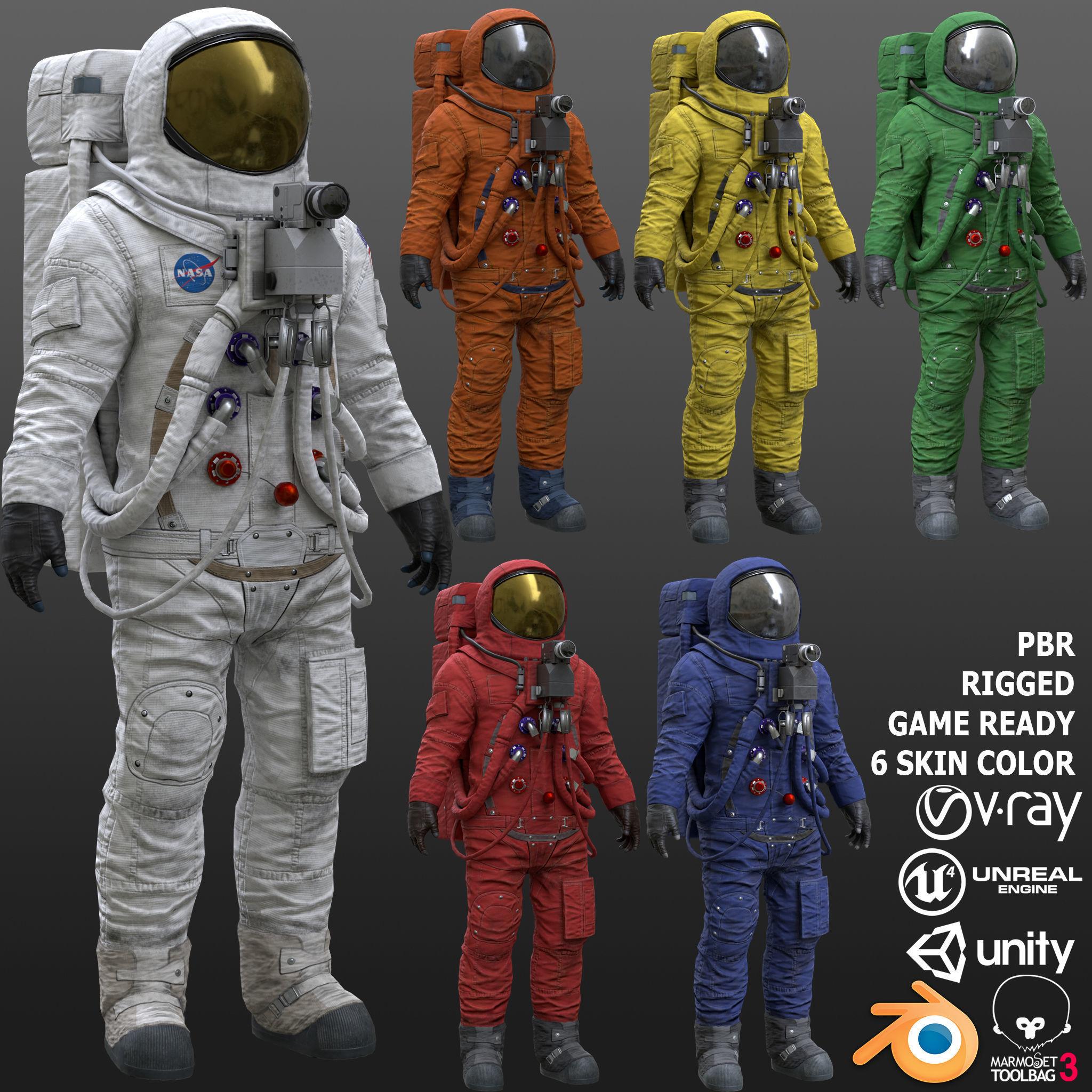 CS03 Space Suit FULL VERSION