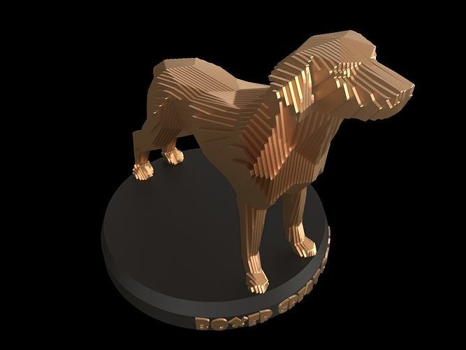 Parametric Boxer Great Dane