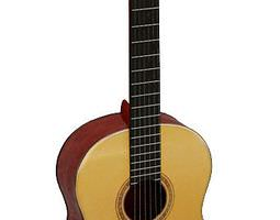 Musical Instrument Classical Guitar 3D