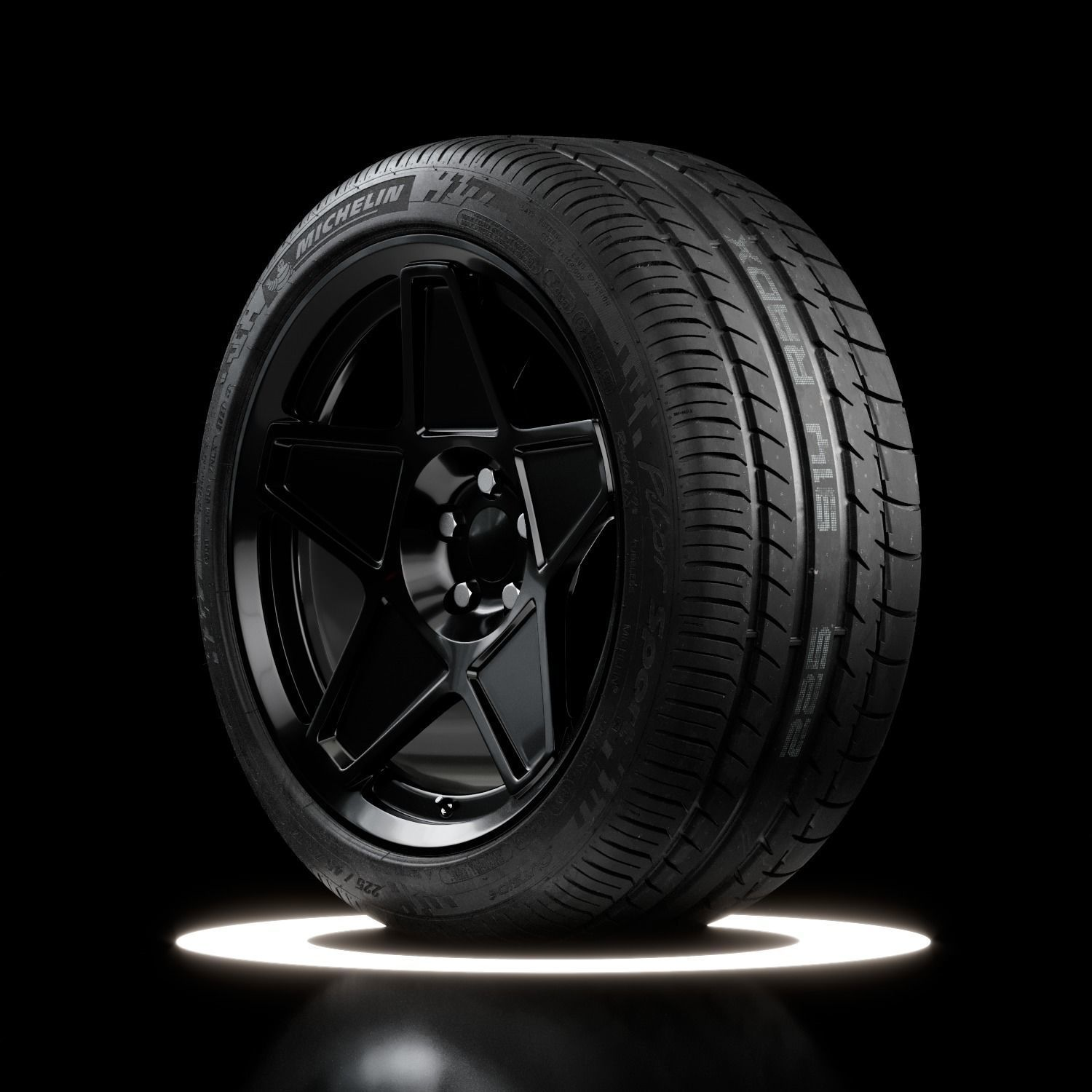 Michelin Pilot Sport PS2 N3 Real World Details Brand New