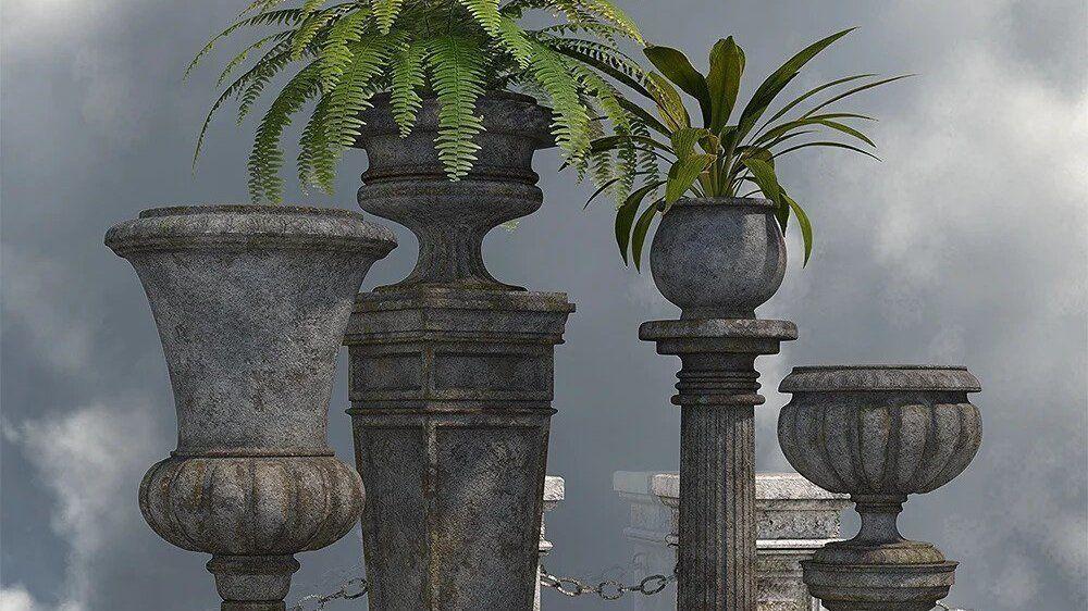 Victorian Garden Decor