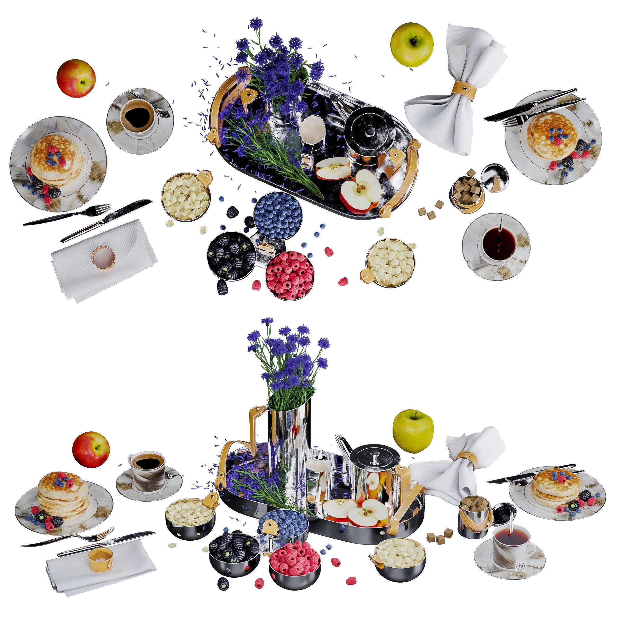 Ralph Lauren Wyatt tea decor set