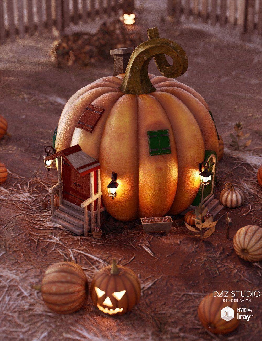 Iddy Biddy Pumpkin House