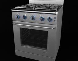 Kitchen Stove 3D
