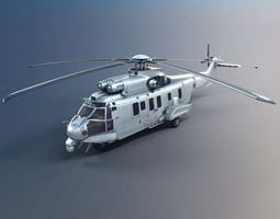 army helicopter 3d model obj