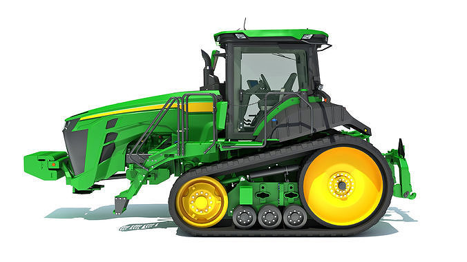 Two Track Tractor