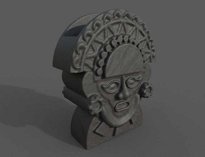 Inca Style Planter Macetero Arte Inca
