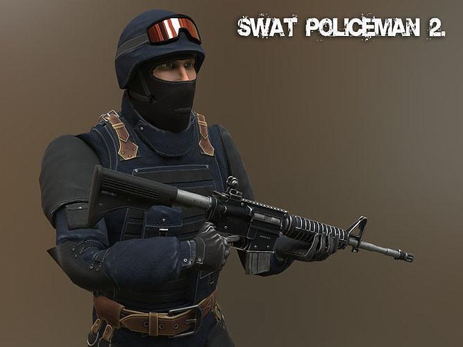 Swat Policeman 2