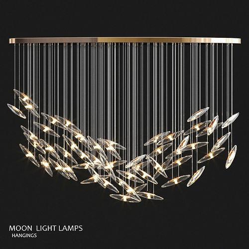 Murmuration hanging lamps