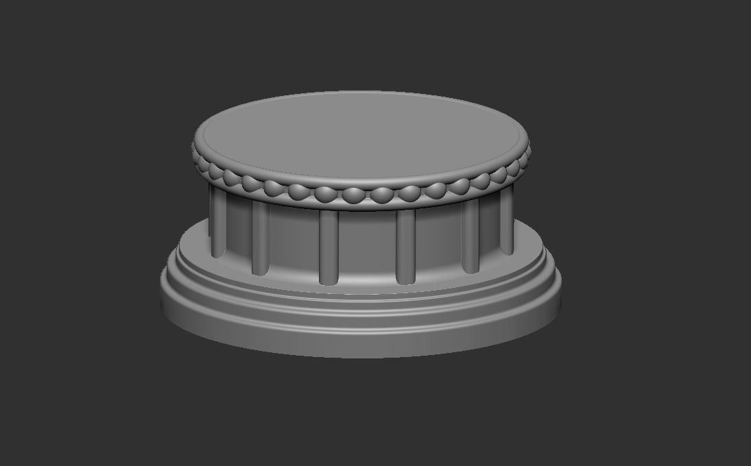 Decorative Base Stand for statues and figurines