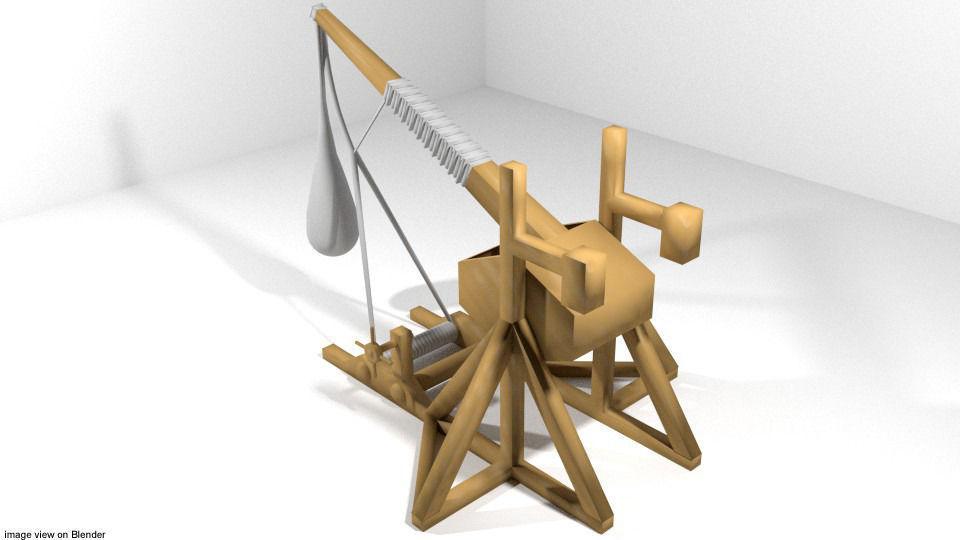 Medieval War Machine - Trebuchet