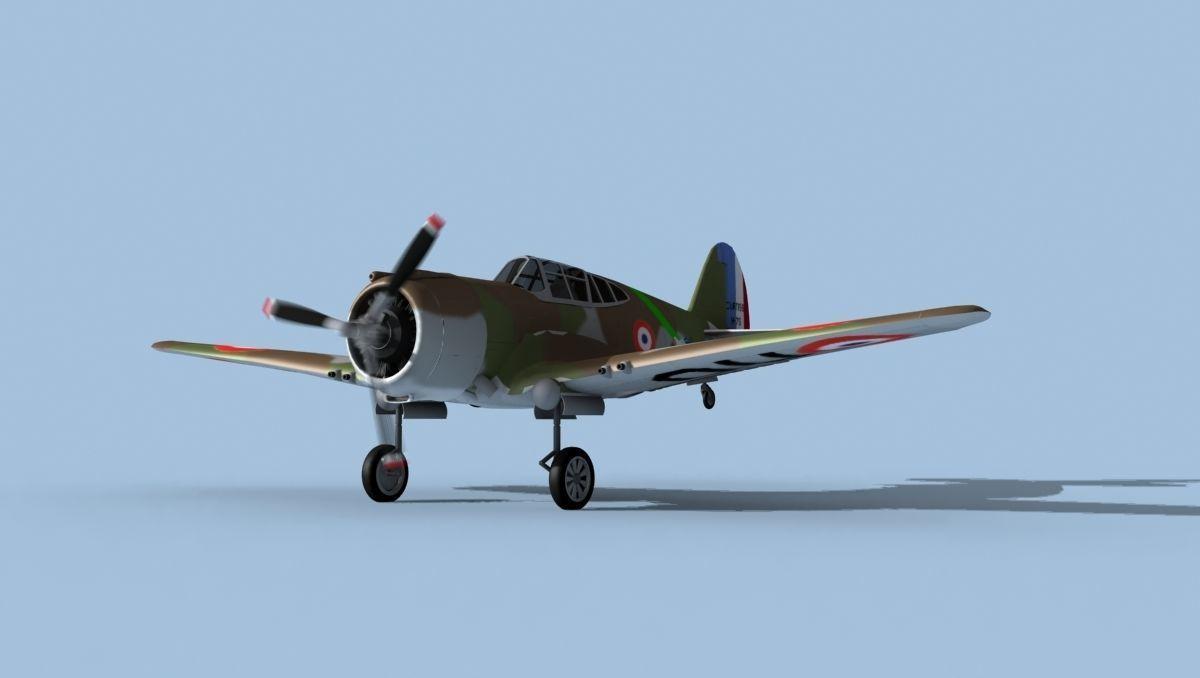 Curtiss H-75C Mohawk V10 France