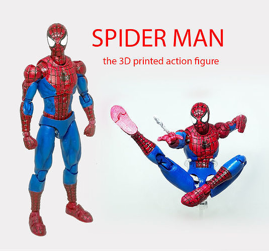 SPIDER MAN articulated action figure