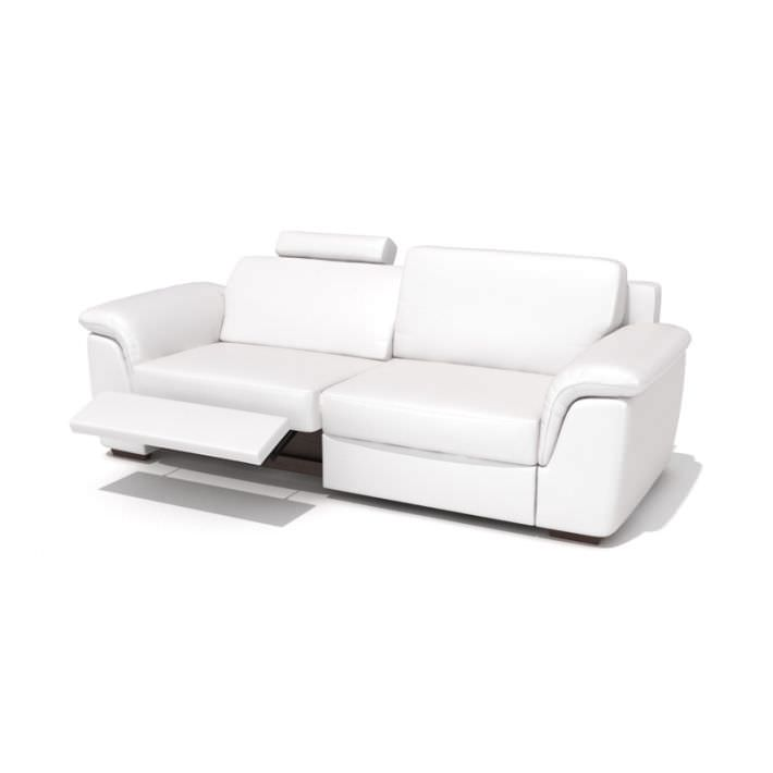 Modern Reclining Leather Sofa | 3D model