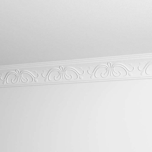 Decorative ceiling molding 3d model obj for Advanced molding and decoration