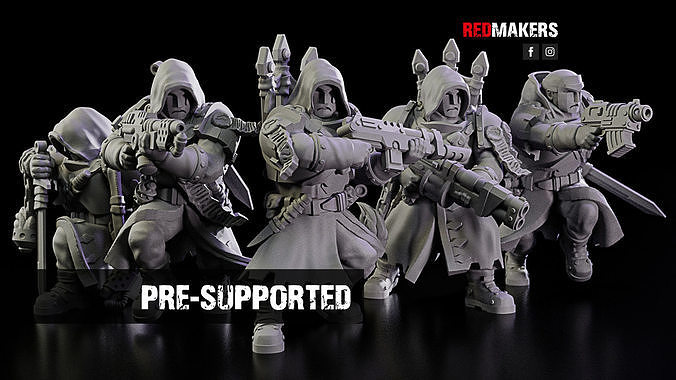 Janissaries - Squad of the Imperial Force