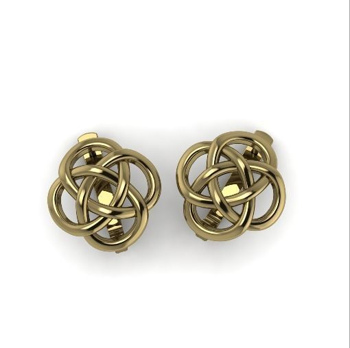 12 Earrings Symbol KNOT OF ENDLESS LUCK