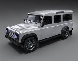 3D model Land Rover Defender