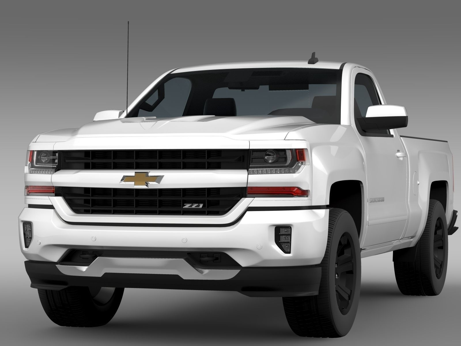 Chevrolet Silverado Lt Z71 Regular Cab Gmtk2 Standart Box 2017 Model