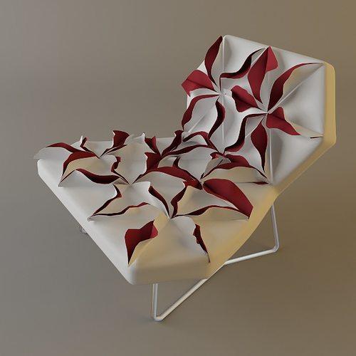 antibodi moroso flower chair 3d model max obj mtl 3ds fbx unitypackage prefab 1