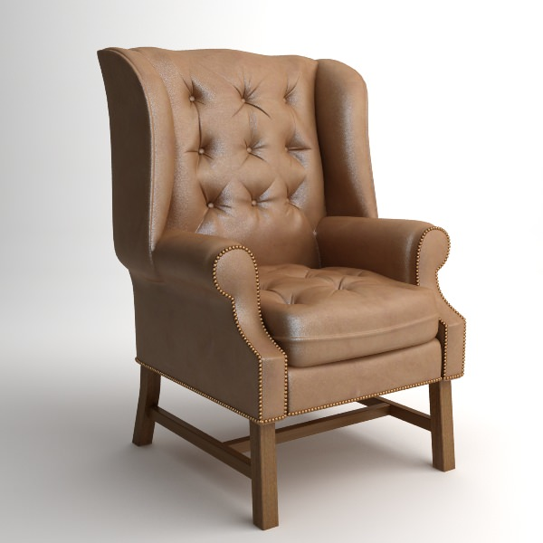 Traditional Wing Back Armchair