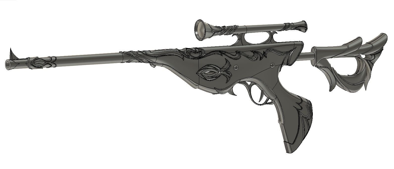 Helluva Boss - Carmine crafted blessing tip Sniper rifle