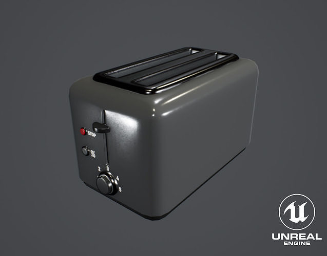 Furniture And Appliances - Toaster