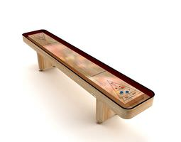 3d indoor shuffleboard table