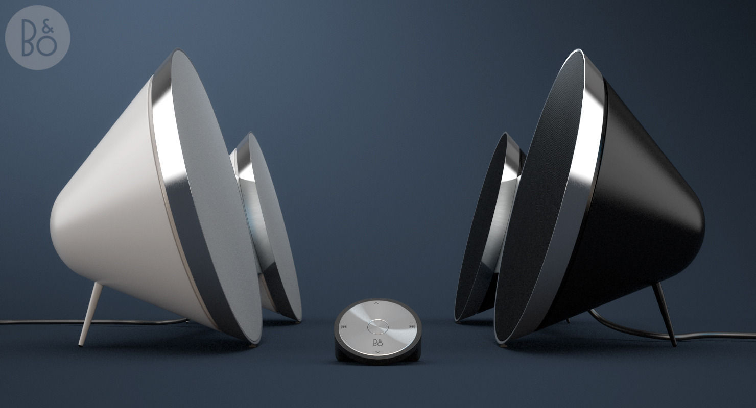 bang and olufsen a8. beoplay a8 by bang and olufsen 3d model max obj 3