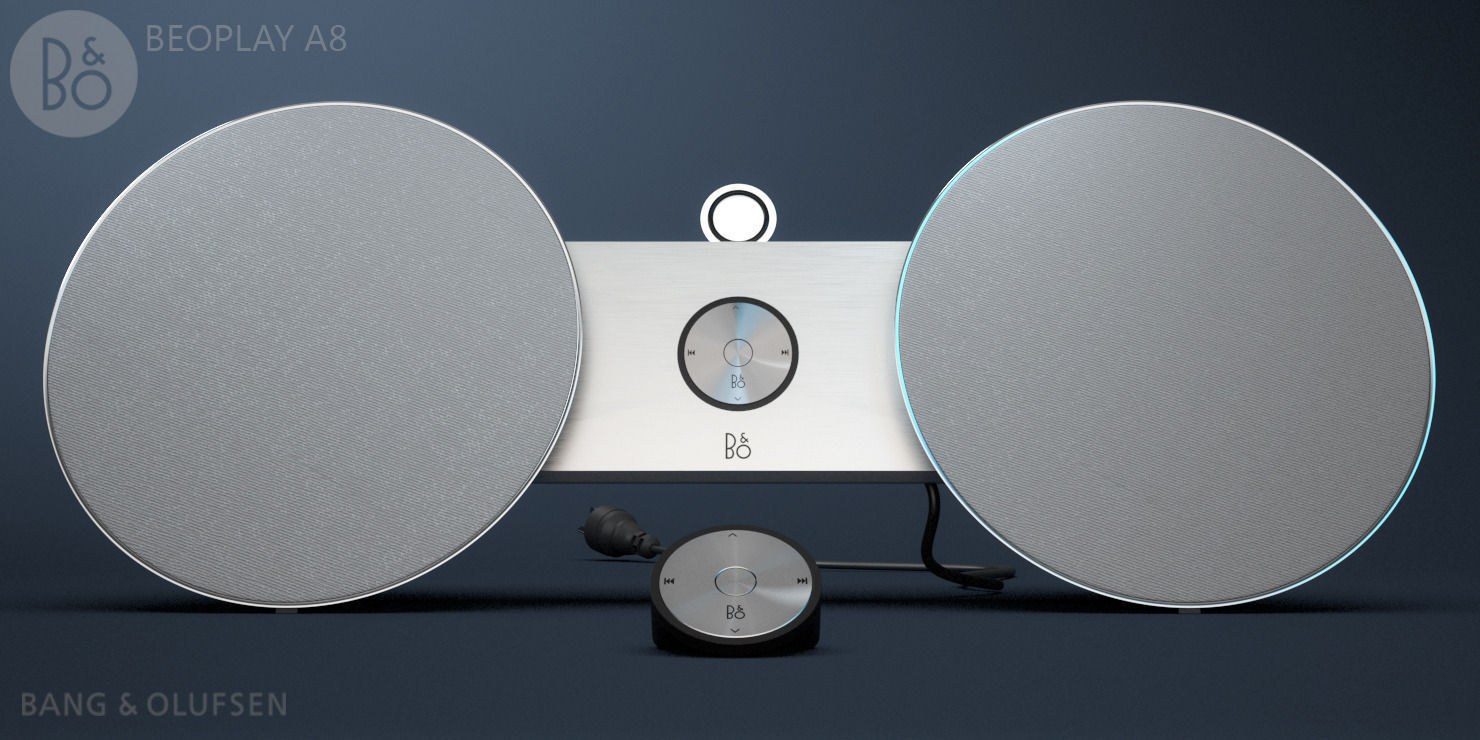 00daba48d8a 3D model Beoplay A8 by Bang and Olufsen design | CGTrader