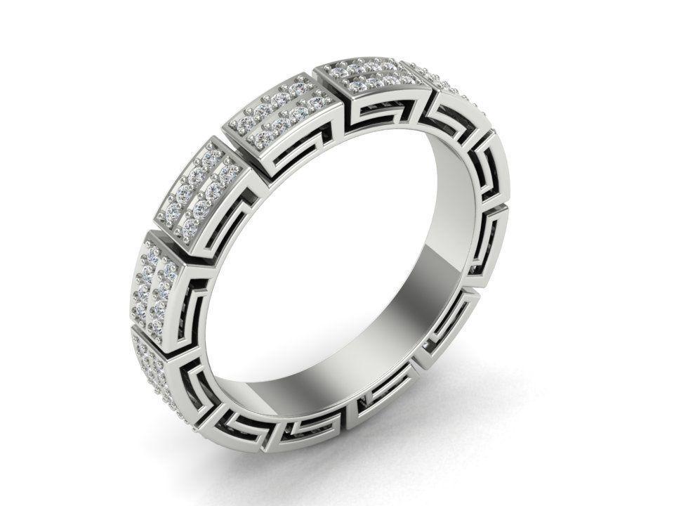 Versace Ring V2 Model Stl M 3