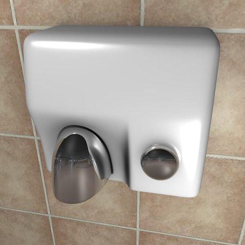 hand dryer for bathroom. Hand-dryer 3D Model Hand Dryer For Bathroom T