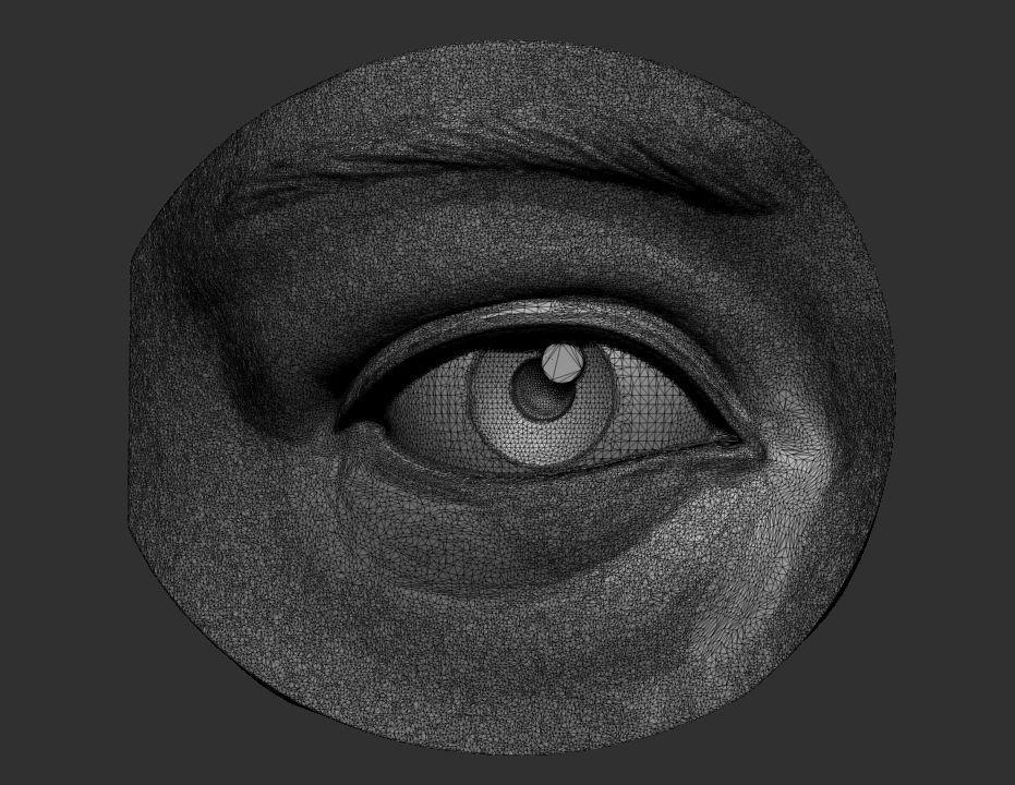 Car Trader Online >> Eye reference 3D Model 3D printable STL | CGTrader.com