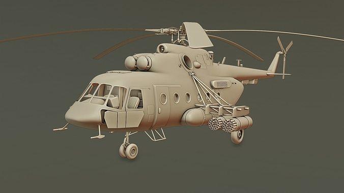 Helicopter Mi-8 AMTSH