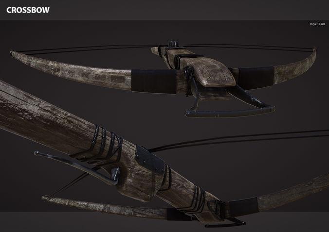 Medieval Crossbow | 3D model