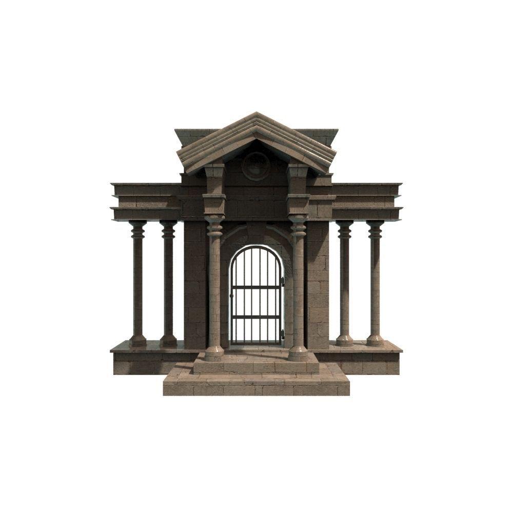 roman door 3d model fbx ma mb 1 ...  sc 1 st  CGTrader & Roman Door 3D model | CGTrader