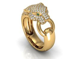Panthere Ring 3D Model