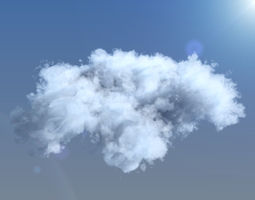 Clouds 3d voxel grid